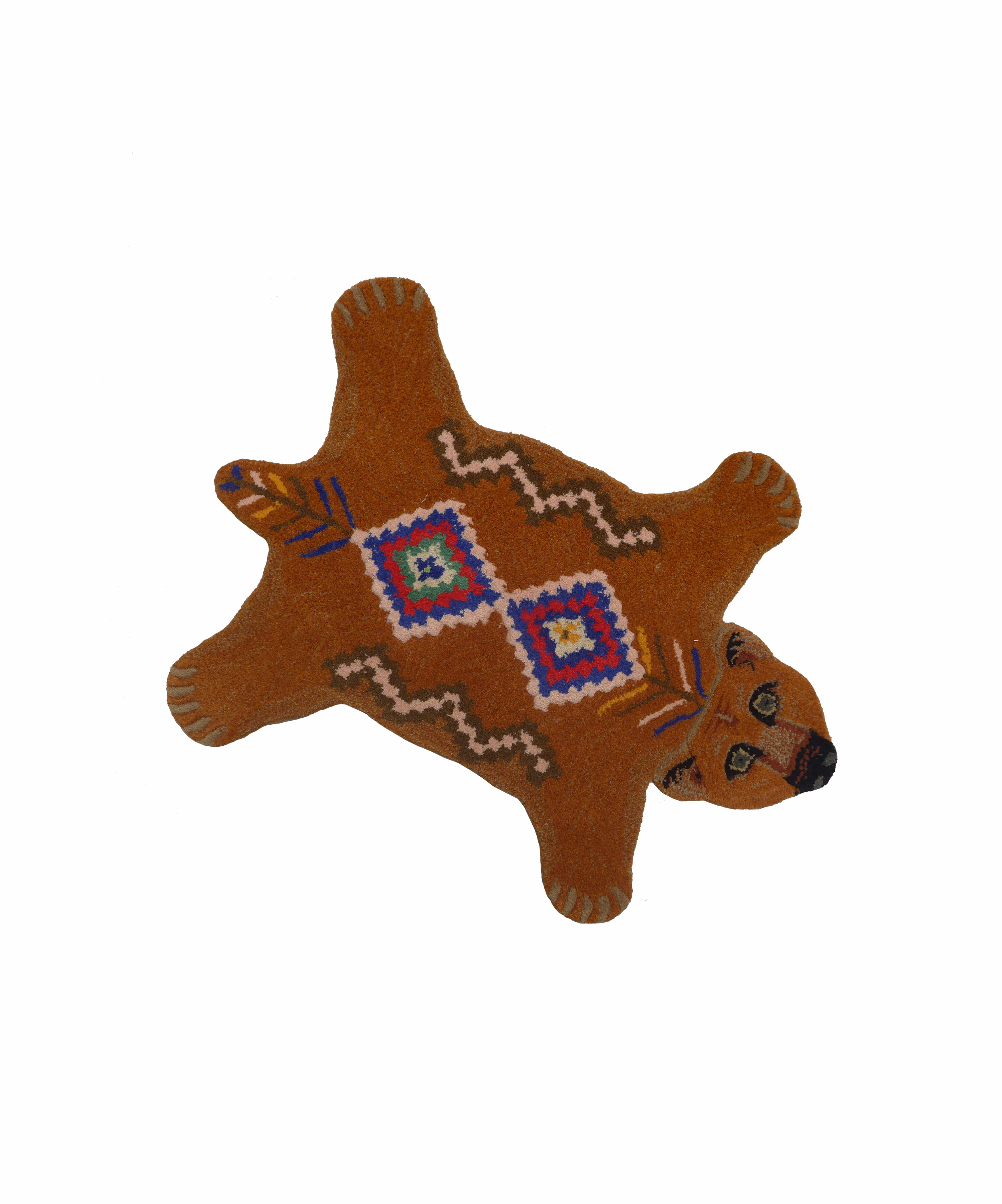 Erde-Brown Bear Rug