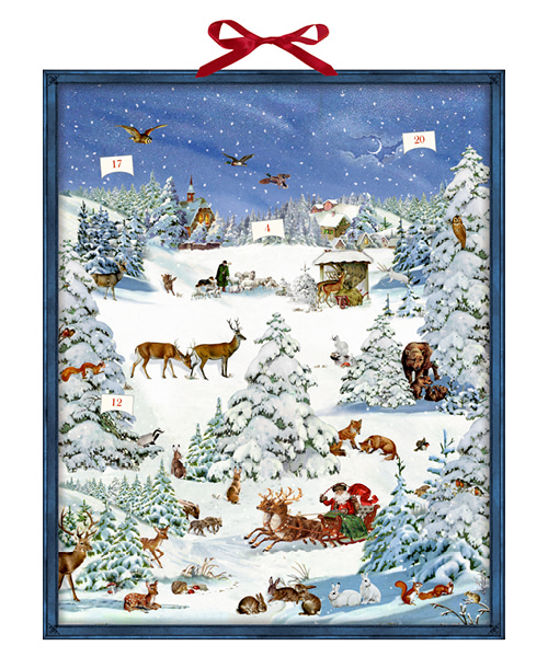 Erde-Winter Wonderland Advent Calendar